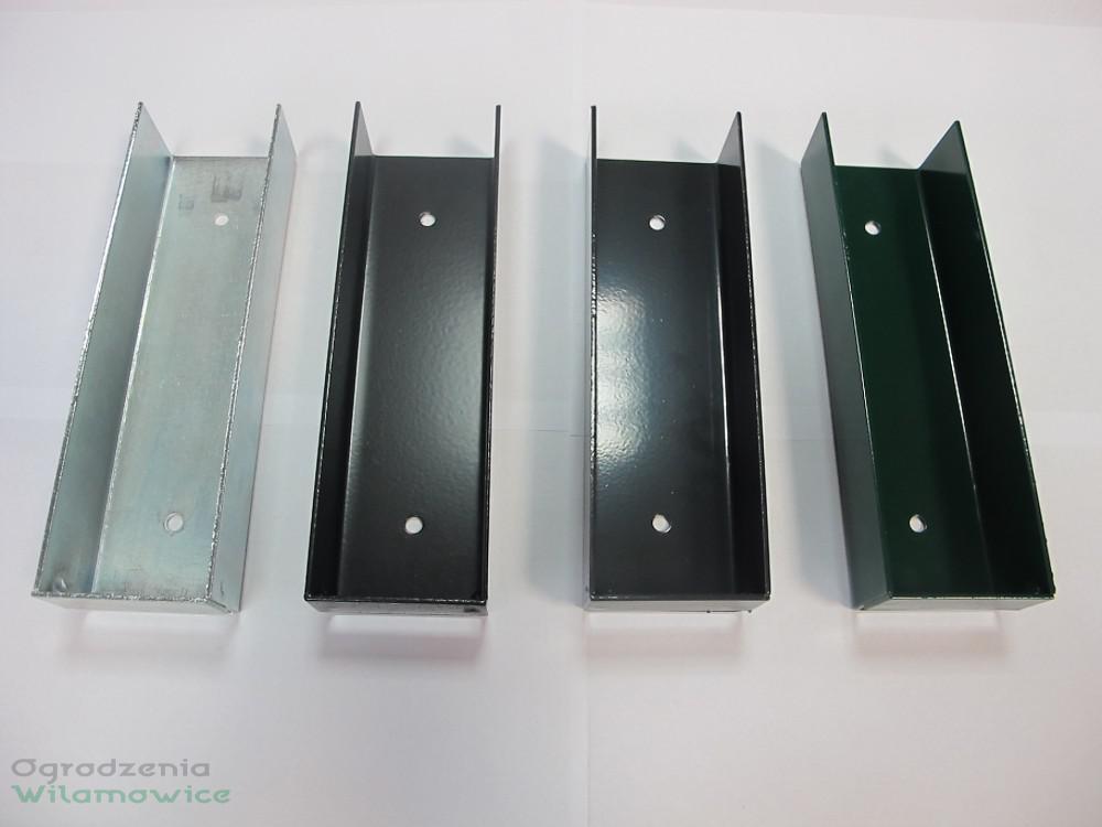 Element mocujący łącznik metalowy do podmurówki 20cm